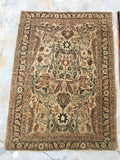 2'6 x 3'8  antique Persian Tabriz rug