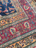 10'2 x 11'8 Antique Persian Mashhad