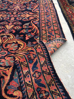 2'7 x 6'5 Antique Persian Lilihan Runner