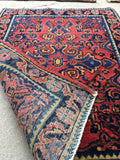 1'10 x 2'6 antique Persian Mohajeran Sarouk mat