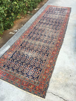 3'4 x 11'6 Antique Persian Malayer runner (#863)
