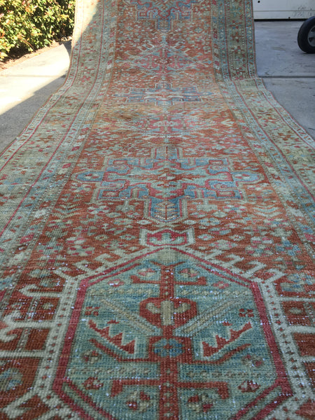 2'9 x 11' Vintage NW Persian Runner