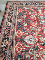 7'4 x 11'4 Antique Persian Mahal Rug (#716)