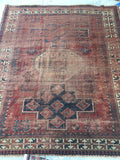 6'4 x 7'5 Antique Kazak rug