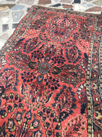 2'1 x 4'8 antique Persian Sarouk