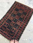 2'6 x 3'9 Antique Baluch Rug (#727)