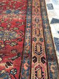 3'4 x 6' Antique Hamadan Rug (#615)