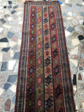 2x6 antique Turkish runner / skinny runner (#731ML)