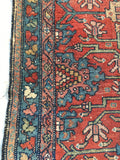 3'3 x 4'9 Antique Persian Malayer Rug (#1234) / 3x5 small vintage rug