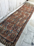 2'9 x 10'3 Qashqai Tribal Runner / Persian Runner