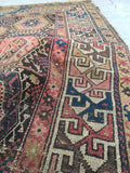 4'5 x 6'2 Antique Shirvan Caucasian rug