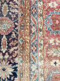 10'3 x 12'9 masterpiece antique Persian Bibikabad Rug