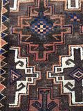 3'4 x 6'2 Antique Baluch Rug / tribal rug