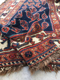 3'5 x 11'6 Antique Persian Malayer runner