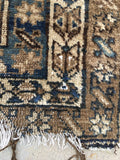 3'7 x 5' Love Worn Kurdish Rug