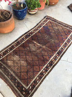 2'11 x 5'9 Antique Baluch Rug