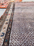 1'10 x 3'9 antique Chinese Art Deco Rug (#778)