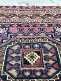 1'6 x 1'10 Antique Turkoman/Turkmen scatter rug (#947ML)