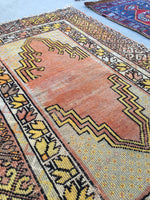 2'10 x 4'0 antique Turkish rug (#951ML)