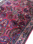 3'4 x 4'9 antique Persian Sarouk