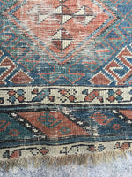 3'3 x 9'9 Antique Caucasian Runner (#958)