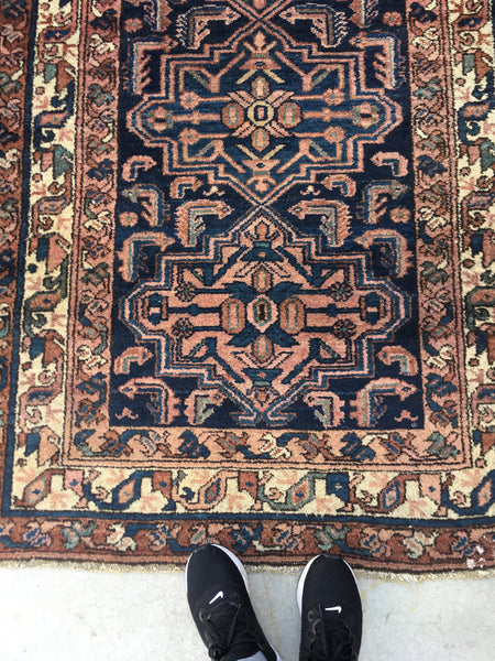 3'6 x 6'7 antique Malayer Rug