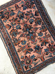 2'2 x 3  antique Persian Lilihan rug