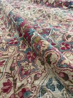 7'9 x 11'5 antique Persian Mahal rug