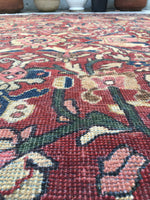 7'9 x 11'5 antique Persian Mahal rug (#606)