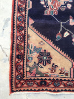 4'7 x 6'5 antique Malayer rug