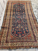 4'5 x 8'5 Antique Persian Bakhtiari (#936ML) / 4x8 Vintage Rug
