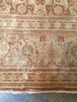 6'3 x 8' antique Persian Tabriz rug