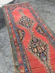 3'10 x 14'4 Antique Karabagh Runner
