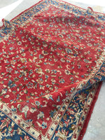6 x 8'2 Antique Persian Kerman rug (#791)