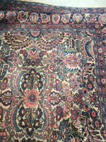 7'3 x 10' antique Persian Kerman