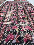 2'11 x 6'10 Antique Karabagh runner / Russian rug