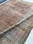 8'10 x 11'9 Antique Turkish Rug (#1512) / 9x12 vintage rug