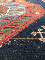 3'3 x 16' Worn Antique Caucasian Runner (#983)