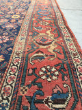 3'9 x 14'2 Antique Kurdish Bidjar runner (#982)