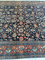 8'6 x 11' antique Persian Bibikabad Rug (#1140)