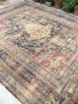 12'5 x 16' Antique Persian Mashhad Rug  / 12x16 vintage rug (#1501)