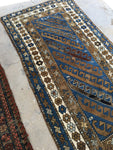 3'4 x 6'9 antique Caucasian runner (#1148B)