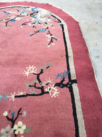 3'2 x 4'10 Chinese Art Deco Rug