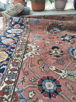 9'5 x 13'1 Antique Persian Tabriz Rug / Large Antique Rug (#1153)