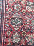 9'5 x 12'5 Antique Persian Mahal Rug / large vintage rug (#1166)