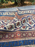 2'7 x 5'10 Antique Caucasian Rug