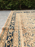 6'8 x 19'9 antique Persian Hamadan rug