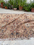 6'6 x 10' Antique 19th Century Persian Sultanabad Mahal (#1538ML) / 7x10 vintage rug