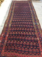 4'3 x 11'7 NW Persian Runner (#990ML)
