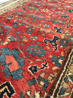 3'7 x 8'2 vintage NW Persian Runner